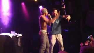 Hopsin ft fan - HOW YOU LIKE ME NOW @ Amsterdam Melkweg [Crowdsurf + jump from balcony]