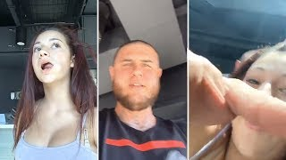 Danielle Bregoli's Bodyguard SNATCHES Her Phone And CUTS OFF Her Livestream
