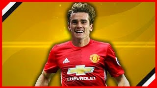 ANTOINE GRIEZMANN SAYS MAN UNITED MOVE IS 60% LIKELY! | TRANSFER NEWS