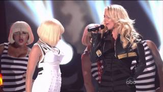 Britney Spears - Till The World Ends feat Nicki Minaj Billboard Music Awards 2011 Live