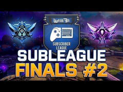 SUBSCRIBER SUB LEAGUE Diamond Masters League Season 2 Finals Game 2 Smite