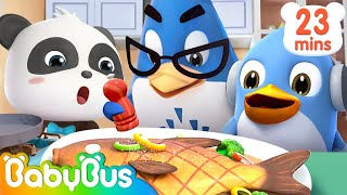Baby Panda's Thanksgiving Celebration | Magical Chinese Characters | Baby Care | Baby Song | BabyBus