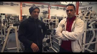 Shoulder workout (PART 2) || W/ Charles Clairmonte and Jamo Nezzar