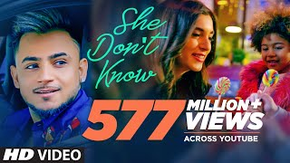 She Don't Know: Millind Gaba Song | Shabby | New Hindi Song 2019 | Latest Hindi Songs
