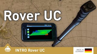 Rover UC undercover metal detector, Android smart phone controlled