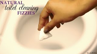 DIY Homemade Fizzy Toilet Cleaning Bomb   Bathroom Cleaning Tip