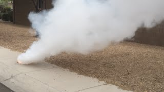 How To Make A Smoke Bomb With Household Items!