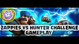 12 WINS ZAPPIES AND HUNTER CHALLENGE GAMEPLAY FIRST TRY !