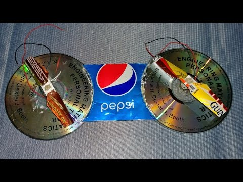 How to Make a Helicopter at Home with DC Motor and Disc, Easy Steps to Follow