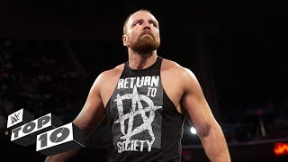 Dean Ambrose's untamed lunatic moments: WWE Top 10, Aug. 20, 2018