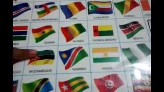 Helaine Steny identifying 198 flags of the world