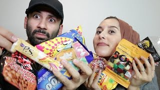 TRYING SOUTH AFRICAN SNACKS!