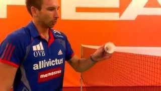 Badmintonové triky Petra Koukala