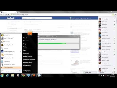 Como Configurar Uma Chamada de Video Do Facebook