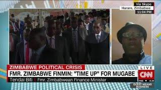 Zimbabwe's Former Finance Minister: Time Up...