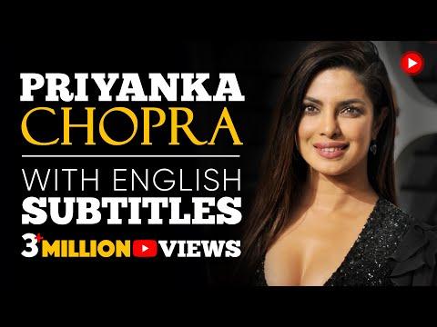 LEARN ENGLISH   PRIYANKA CHOPRA: Full Power of Women (English Subtitles)