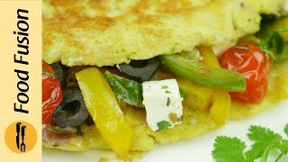 Mediterranean Omelette Recipe By Food Fusion