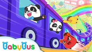 Baby Panda Takes Magical Train   Look for Zero Mountain   Math Kingdom Adventure   BabyBus