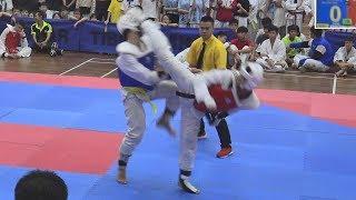 Chee Xueyi Kyorugi - 1st Chinese Private Schools Taekwondo Championship