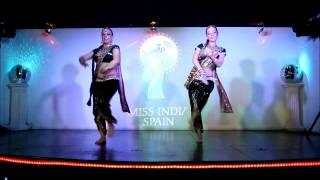 Miss India Spain 2012. Presentacion en Barcelona. Magical Bollywood. PARTE 1 NATRANG DANCE