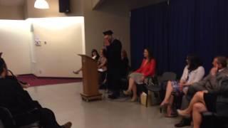 WCCMT Victoria's April 2014 Graduation Speech