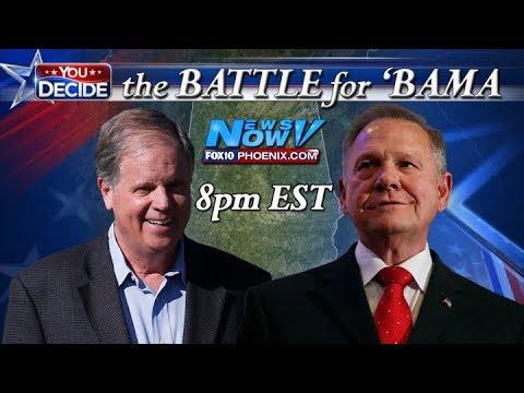 Xxx Mp4 FULL COVERAGE Alabama Special Election Senate Race Results Roy Moore Doug Jones FNN 3gp Sex