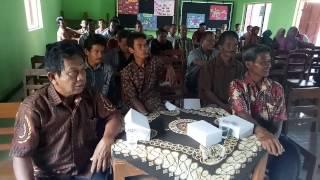 Musdes Kalangan Pedan Klaten Bahas Dana Desa Tahun 2017