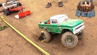 "RC ADVENTURES - ""THE JUDGE"" SLED PULL! RUDE BOYZ RC TTC 2017 - SCALE TOUGH TRUCK CHALLENGE - (PT 5)"