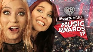 MEETING CELEBS AT THE iHEART AWARDS!? (Lunchy Break)