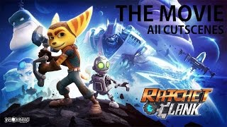 [HD] Ratchet and Clank PS4 2016 - All Cutscenes (GAME MOVIE)