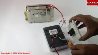How to pair electronic Door Lock with D3D wireless IP Door bell