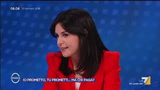 Omnibus - Io prometto, tu prometti... ma chi paga? (Puntata 13/01/2018)