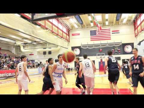 watch 2014 USA Basketball Men's U18 Team Dunk Highlights