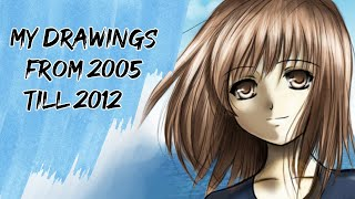 My Manga drawings since I started to 2012!
