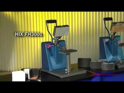 HIX Cap and Specialty Manual Heat Presses
