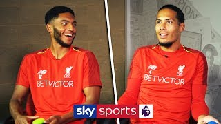 Virgil van Dijk vs Joe Gomez |