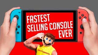 How Did Nintendo Switch Become The Fastest Selling Console Of All Time?