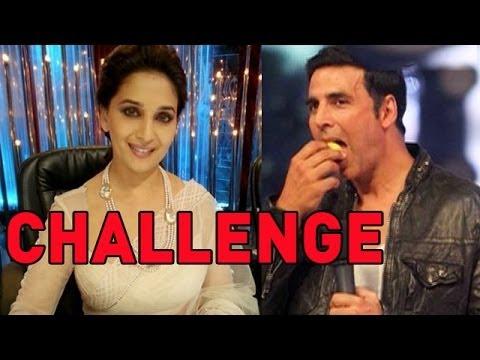 Madhuri Dixit 'CHALLENGES' Akshay Kumar