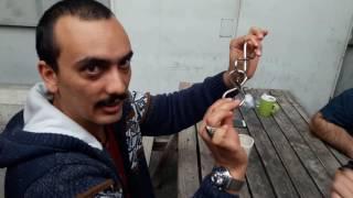 Metal Puzzle Çözümü 2 adet metal kanca
