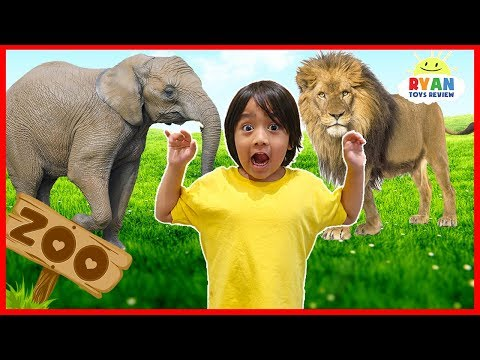 Xxx Mp4 Learn Zoo Animals Names For Kids Educational Video For Children With Ryan ToysReview 3gp Sex