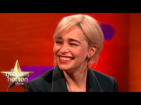 Brad Pitt Bid $120k For A Night With Emilia Clarke!  | The Graham Norton Show