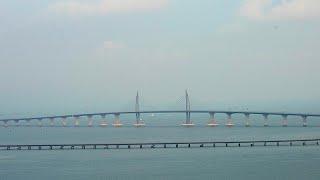 شاهد: الصين تدشن أكبر جسر في العالم