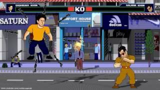 Fighters Shahrukh Khan vs Salman Khan