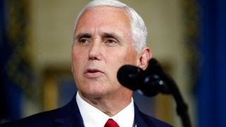Health care bill debate vote is tie broken by Pence