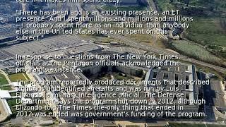 Report: Pentagon program investigated reports of UFOs