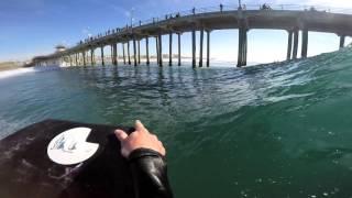 Bodyboarding POV HB Pier Northside | December 8 | 2015