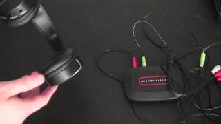 SHARPER IMAGE WIRELESS HEADPHONES REVIEW
