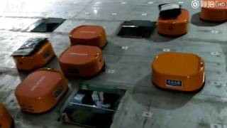 Robots sorting system helps Chinese company finish at least 200,000 packages a day in the warehouse