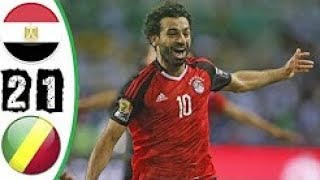 Egypt vs Congo 2-1 All Goals & Highlights 08/10/2017 HD WC Qualifiers