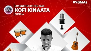 Kofi Kinaata - Performance @ 2016 Vodafone Ghana Music Awards | GhanaMusic.com Video